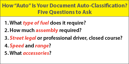 Questions for Auto-Classification v05