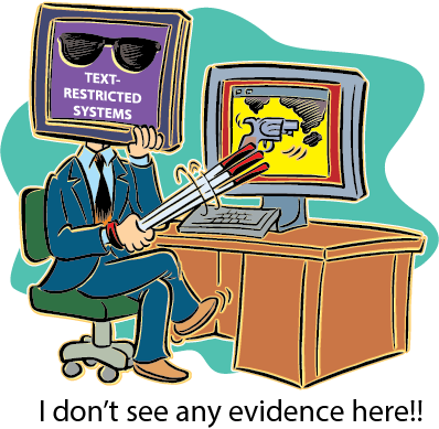 Text-restricted_systems-no-evidence
